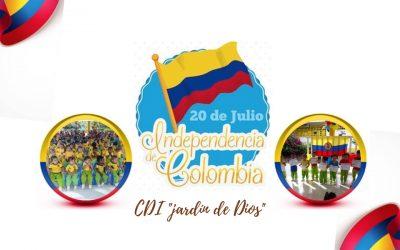 "20 DE JULIO CDI ""JARDIN DE DIOS"""
